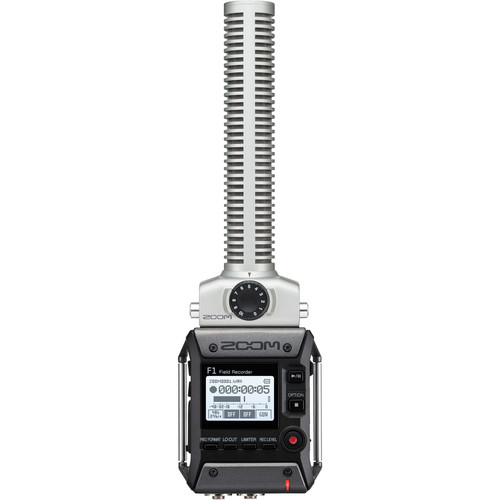 Zoom-F1-SP--Field-Recorder-with-Shotgun-Microphone