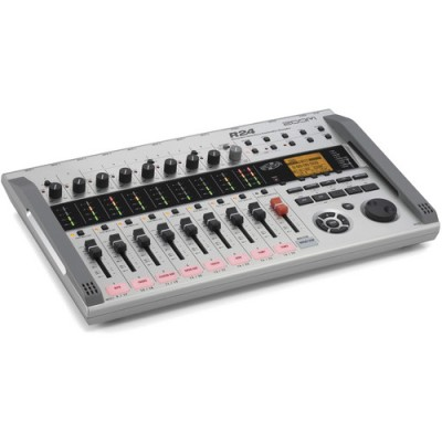 ترک-ریکوردر-زوم-Zoom-R24-Multi-Track-Recorder,-Interface,-Controller,-and-Sampler