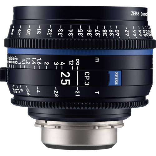 Zeiss-CP-3-25mm-T2-1-Compact-Prime-Lens-(PL-Mount,-Feet)