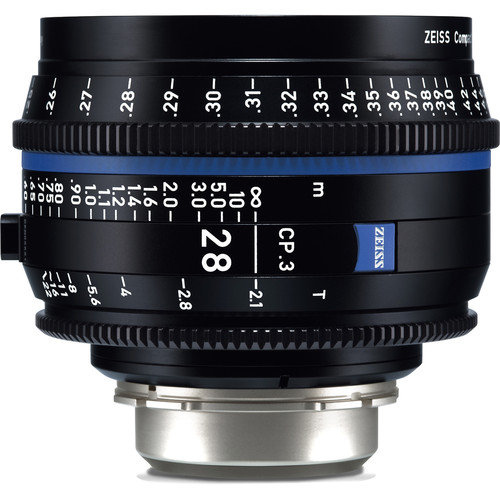 Zeiss-CP-3-28mm-T2-1-Compact-Prime-Lens-(PL--Mount,-Feet)