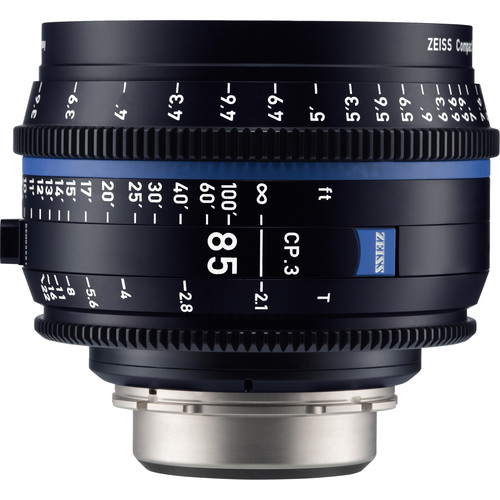 Zeiss-CP-3-85mm-T2-1-Compact-Prime-Lens-(PL-Mount,-Feet)