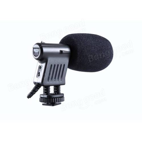 میکروفن-روی-دوربین-بویا-BOYA-BY-VM01-Mini-Directional-Video-Condenser-Microphone-for-Canon-Nikon-DSLR-Camcorder