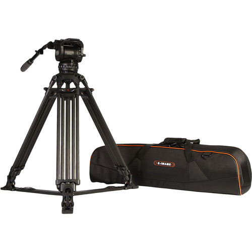 سه-پایه-سینمایی-E-Image-GC102-2-Stage-Carbon-Fiber-Tripod-with-GH15-Head