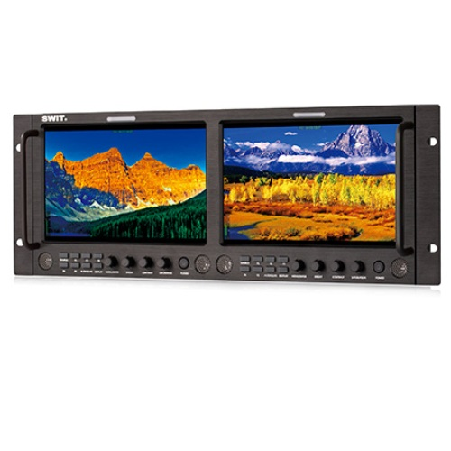 SWIT-M-1093H-Dual-9-inch-FHD-Rack-LCD-Monitor