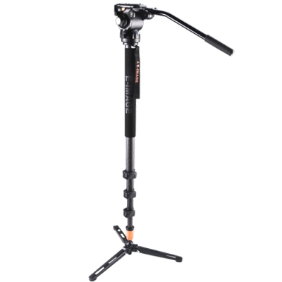 تک-پایه-E-Image-MC-110-Carbon-Fiber-Monopod-with-Pan-Head-and-feet